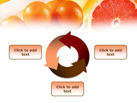 Grapefruit PowerPoint Template Slide 9