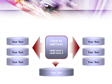 Abstract Race PowerPoint Template Slide 13