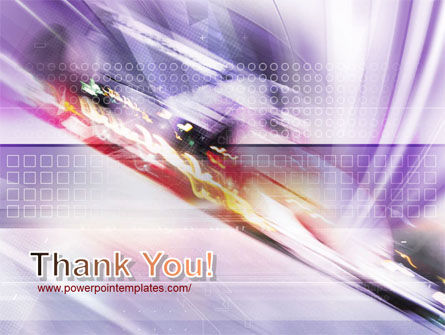 Abstract Race PowerPoint Template Slide 20
