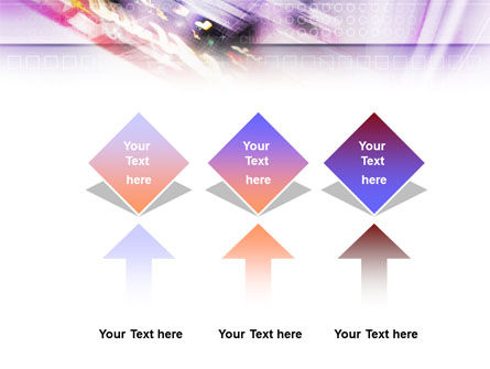Abstract Race PowerPoint Template Slide 5