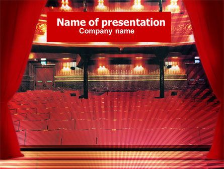 Art & Entertainment: Theater PowerPoint Template #01268