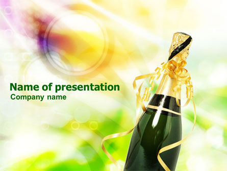 Holiday/Special Occasion: Celebration PowerPoint Template #01269