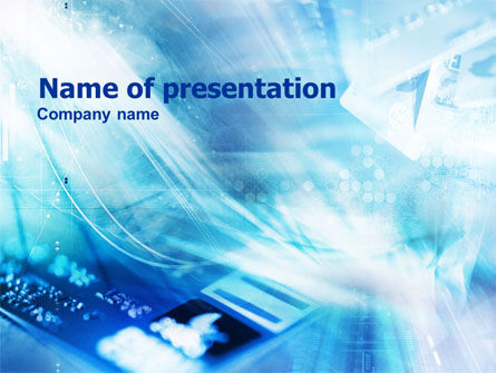 Plastic Card PowerPoint Template, 01271, Business — PoweredTemplate.com