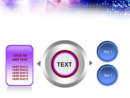 Information Space PowerPoint Template Slide 12