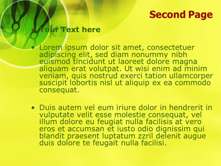 Chromosomes PowerPoint Template, Slide 2, 01273, Technology and Science — PoweredTemplate.com