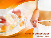 Medical: Fitness PowerPoint Template #01274