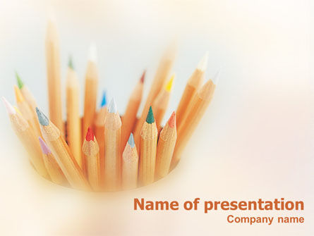 Pencils PowerPoint Template