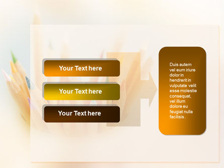 Pencils PowerPoint Template Slide 11