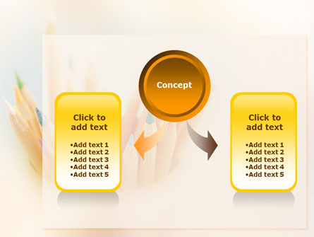 Pencils PowerPoint Template Slide 4