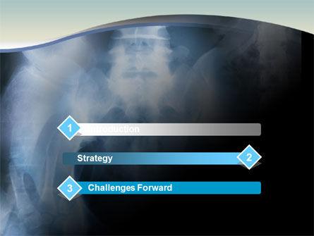 Roentgenoscopy PowerPoint Template, Slide 3, 01276, Medical — PoweredTemplate.com