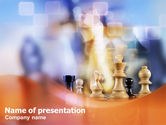 Business Concepts: Chess PowerPoint Template #01278