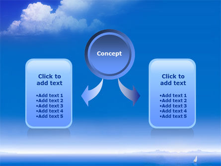Sea & Cloud PowerPoint Template Slide 4