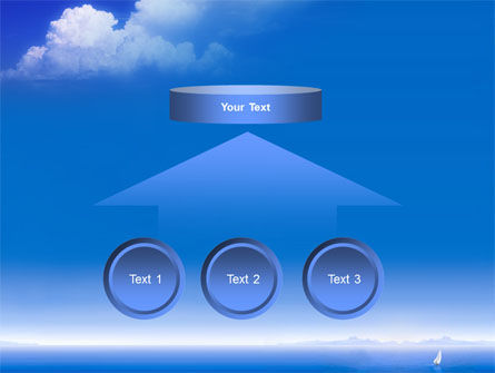Sea & Cloud PowerPoint Template Slide 8