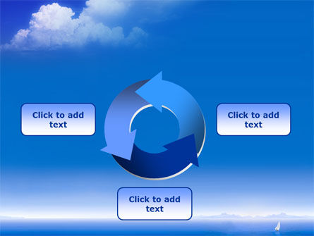 Sea & Cloud PowerPoint Template Slide 9