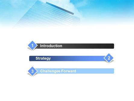 Skyscraper PowerPoint Templat, Slide 3, 01280, Business — PoweredTemplate.com