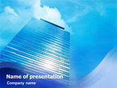 Business: Skyscraper PowerPoint Templat #01280