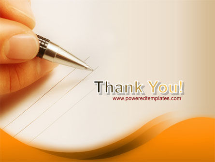Writing Pen PowerPoint Template Slide 20