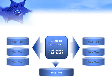 Sheriff PowerPoint Template Slide 13