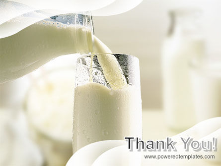 Pouring Milk PowerPoint Template Slide 20