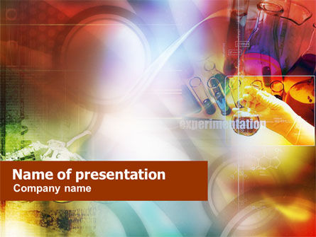 Technology and Science: Chemical Process PowerPoint Template #01289