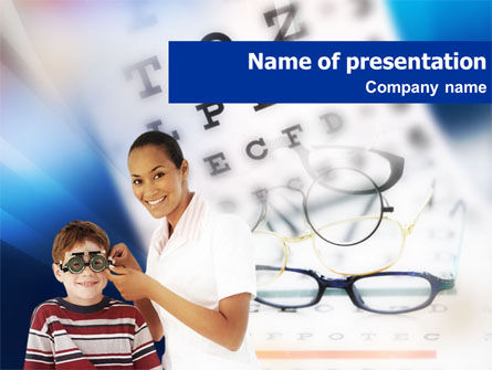 Oculist PowerPoint Template