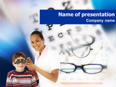 Medical: Oculist PowerPoint Template #01292