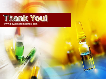 Ampoule & Drug PowerPoint Template Slide 20