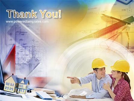Building & Planning PowerPoint Template Slide 20