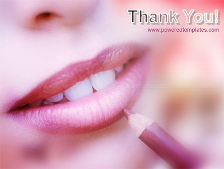 Beautiful Lips PowerPoint Template Slide 20