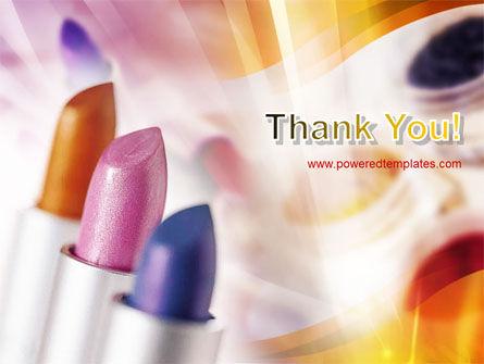 Lipstick PowerPoint Template Slide 20