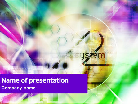 System PowerPoint Template, 01302, Technology and Science — PoweredTemplate.com