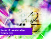 Technology and Science: System PowerPoint Template #01302