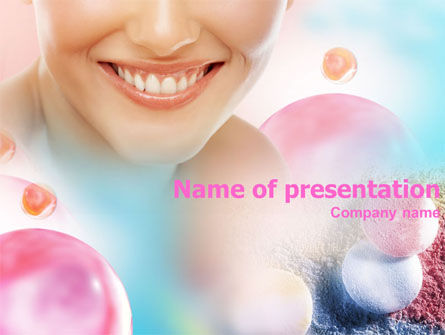 Careers/Industry: Smile PowerPoint Template #01303