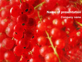 Food & Beverage: Currant PowerPoint Template #01306