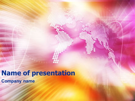 Bright Globe PowerPoint Template
