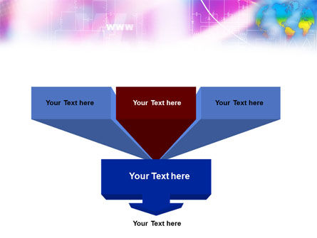Global Net PowerPoint Template Slide 3