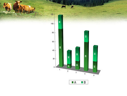 Cows on the Meadow PowerPoint Template Slide 17