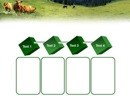 Cows on the Meadow PowerPoint Template Slide 18