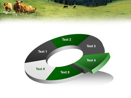 Cows on the Meadow PowerPoint Template Slide 19
