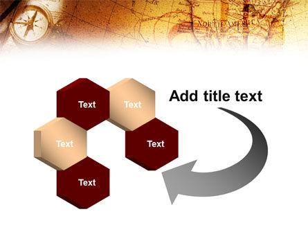 Compass & Map PowerPoint Template Slide 11
