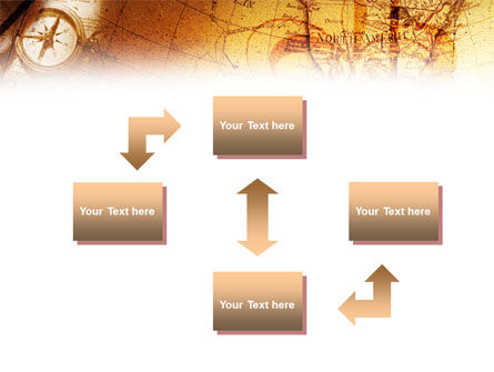 Compass & Map PowerPoint Template, Slide 4, 01315, Education & Training — PoweredTemplate.com