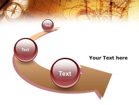 Compass & Map PowerPoint Template Slide 6