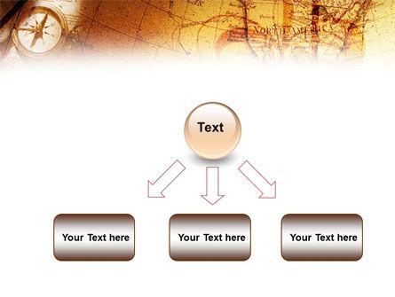 Compass & Map PowerPoint Template Slide 8