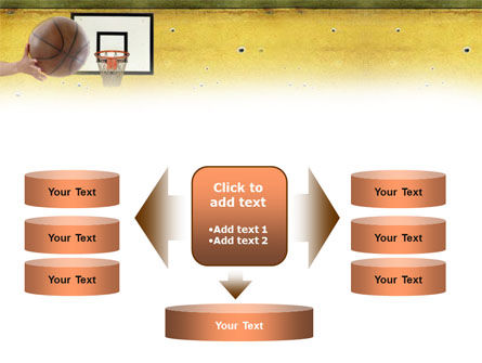 Basketball Of Youth PowerPoint Template Slide 13