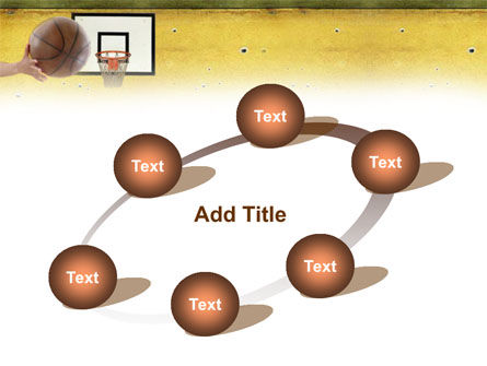 Basketball Of Youth PowerPoint Template Slide 14