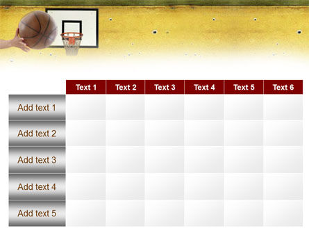 Basketball Of Youth PowerPoint Template Slide 15