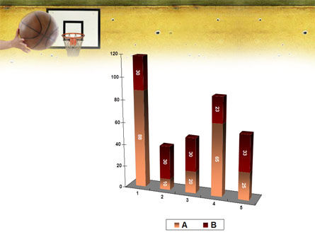 Basketball Of Youth PowerPoint Template Slide 17