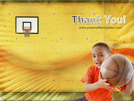 Basketball Of Youth PowerPoint Template Slide 20