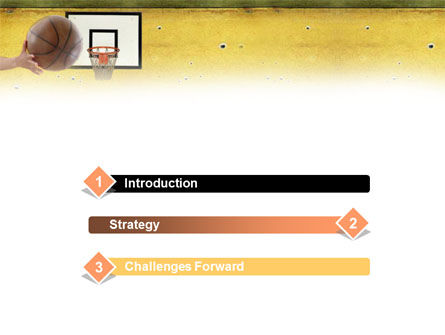 Basketball Of Youth PowerPoint Template Slide 3