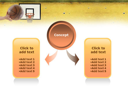 Basketball Of Youth PowerPoint Template, Slide 4, 01321, Education & Training — PoweredTemplate.com